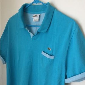 LACOSTE SLIM FIT VINTAGE Men's POLO❤️